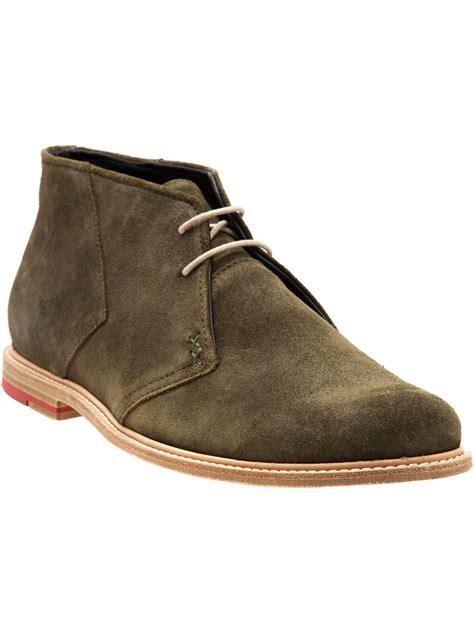 desert boot meandher harrison desert boot in green for lyst