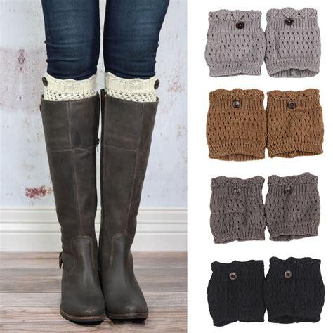 pattern boot socks new 2014 women knit boot cuffs acrylic cable pattern lace