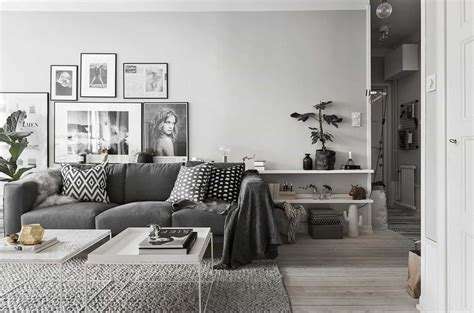 light gray couch living room