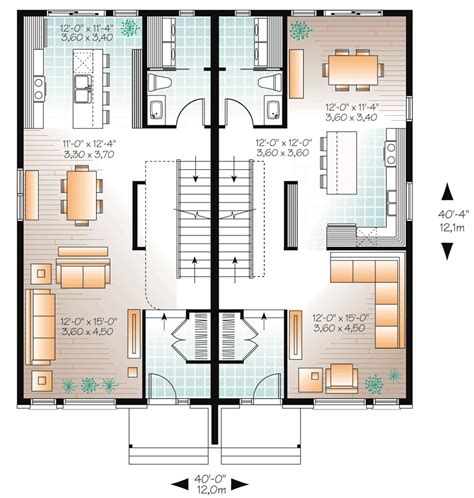 multi family plans multi family plan 76129 at familyhomeplans com