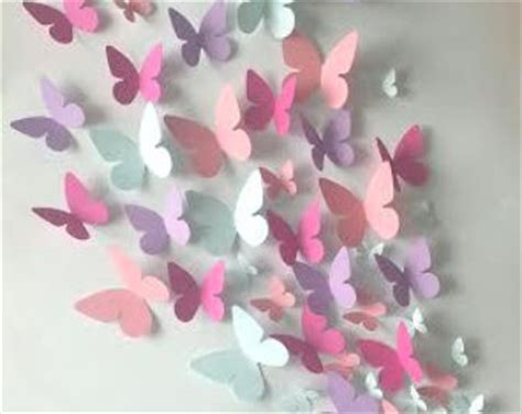 How To Make 3d Butterfly Out Of Paper - paper butterflies etsy