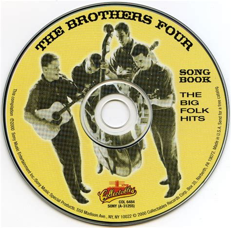 michael row the boat ashore the brothers four the brothers four song book 1961 the big folk hits