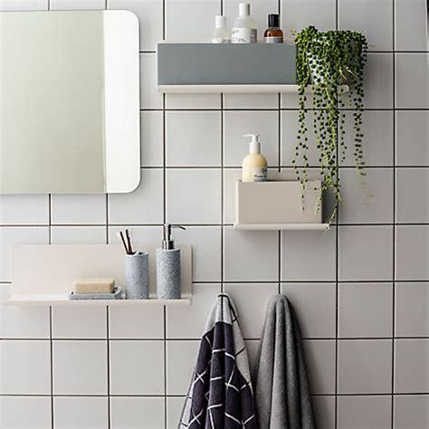john lewis bathroom shelves buy house by john lewis ratio double bathroom shelf john