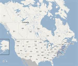 maps of usa and canada america and canada map