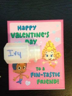 guppies valentines guppies valentines day cards with goldfish crackers