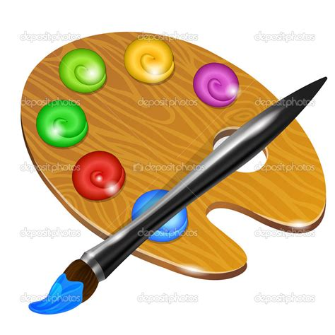 paint images artist paint brush vector clipart panda free clipart