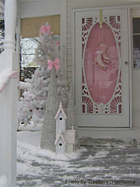 winter porch decorations snowy winter of front porches winter decorating
