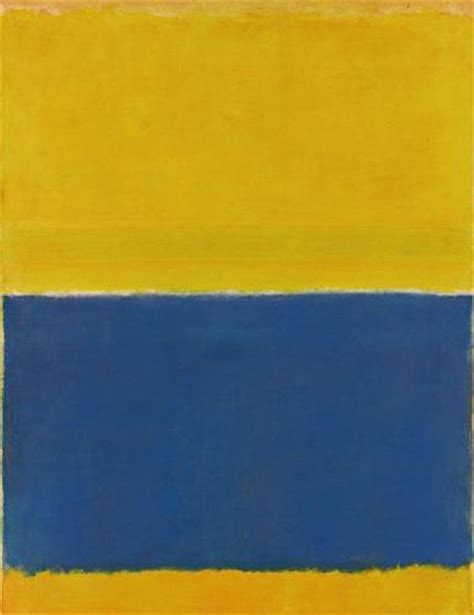 yellow paint sles blue and yellow striped painting sells for 46 million