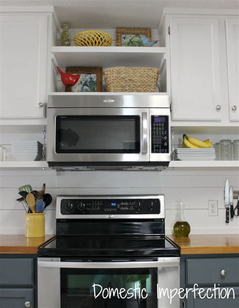 open kitchen shelving domestic imperfection farmhouse kitchen on a budget the reveal domestic