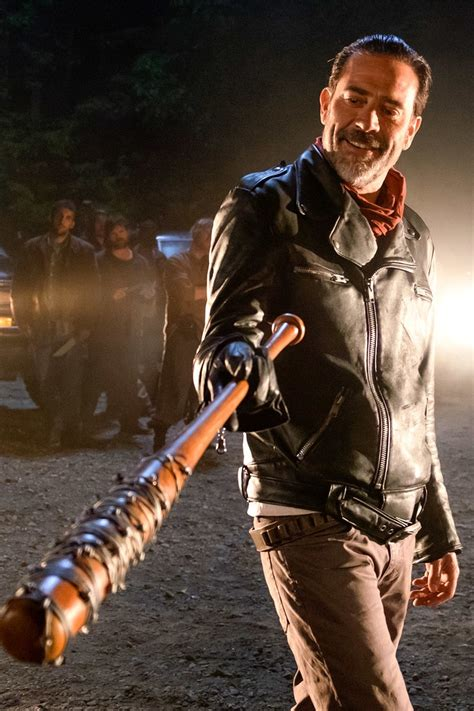 walking dead why is rick smiling at the end of the