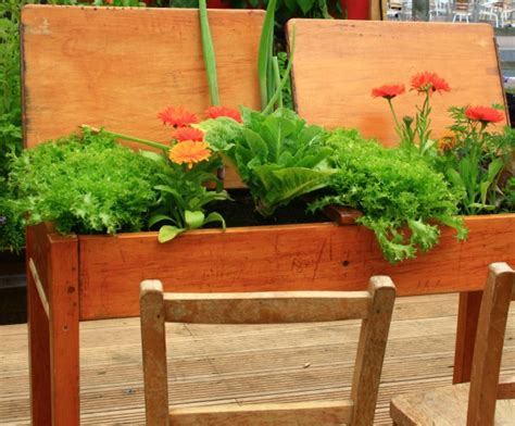 wood container garden 20 unique container gardening ideas for deck patio or