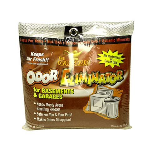 odor eliminator for basements and garages