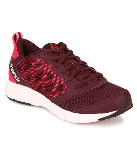 maroon athletic shoes reebok 2 0 maroon running shoes price in india buy