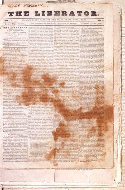 The Liberator by The Liberator Anti Slavery Newspaper
