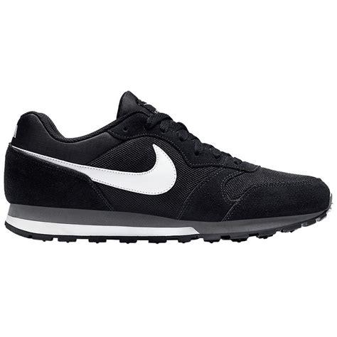 Nike Md Runner Black White nike md runner 2 black white mens trainers