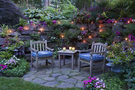 Backyard Grotto by A Grotto Garden In Pennsylvania Gardening