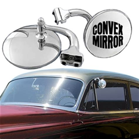 convex peep mirror