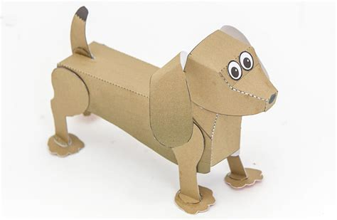 papers for dogs sausage poseable paper to and make rob ives