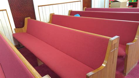 pew upholstery church pew upholstery woods church interiors