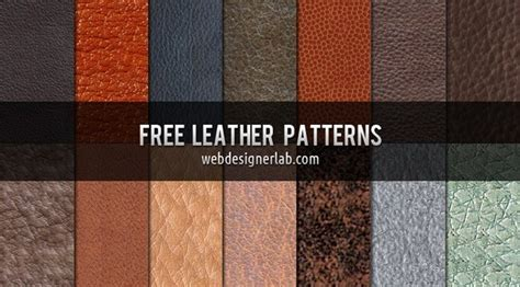 pattern download in photoshop 100 free leather textures for your design projects
