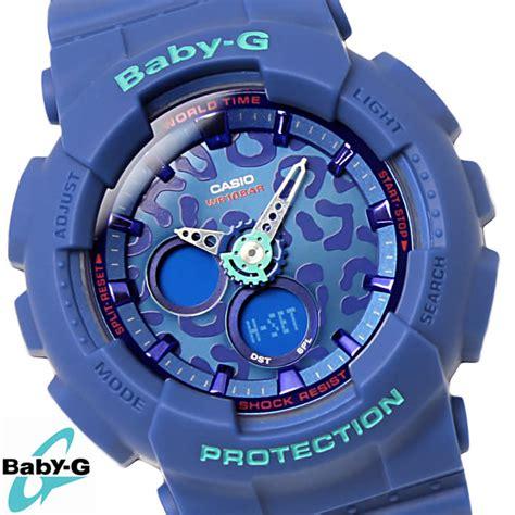 Baby G Ba 120lp 2adr 楽天市場 baby g 腕時計 カシオ casio ベビージー レオパード シリーズ ba 120lp 2adr