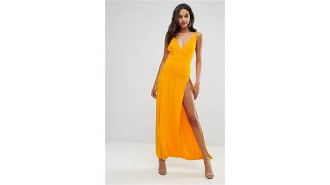 Wn Dress Trily Yellow Scuba buy these 70 dresses that are wedding appropriate but still thotty galore