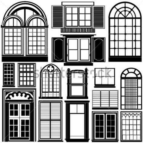 window silhouettes template vetor de janela clip arts clipartlogo
