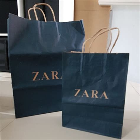 Sepatu Zara Preloved zara paper bag preloved fesyen wanita tas dompet di carousell
