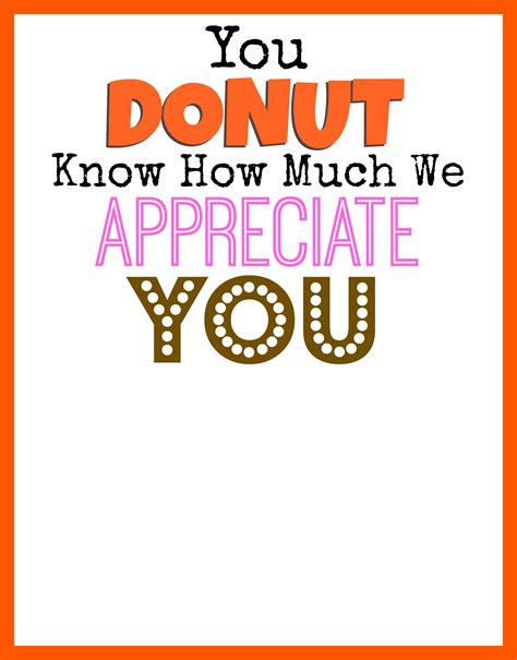 free thank you card templates donut dunkin donuts thank you printable smashed peas carrots