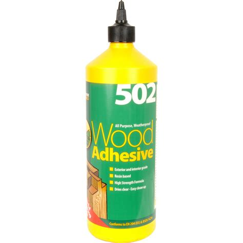 woodwork adhesives interior exterior pva wood glue 1l toolstation
