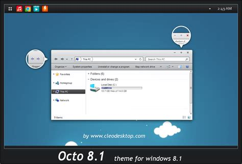new themes for windows 8 1 2015 octo theme windows 8 1 by cleodesktop on deviantart