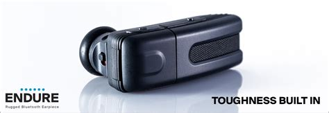 Rugged Bluetooth Headphones by Blueant Endure Rugged Bluetooth Headset Black Ct Bk