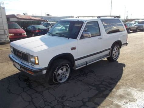 gmc jimmy 1988 purchase used 1988 gmc jimmy no reserve in orange