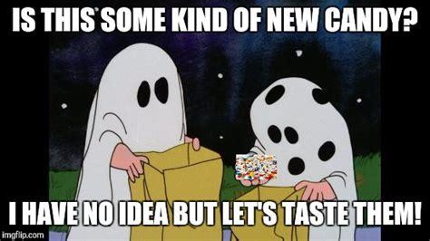 Charlie Brown Memes - charlie brown halloween rock imgflip