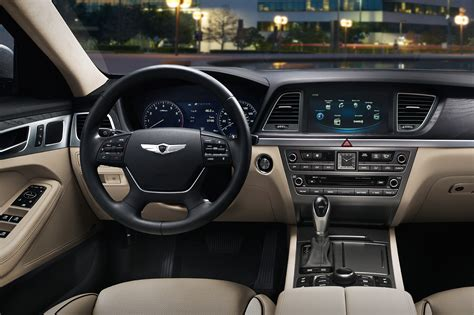 Hyundai Genesis Inside by 2016 Hyundai Genesis Vs 2016 Chevrolet Impala
