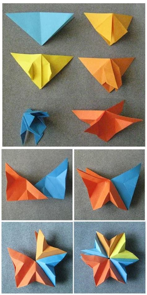 Simple Modular Origami - 187 best images about paper crafts on origami