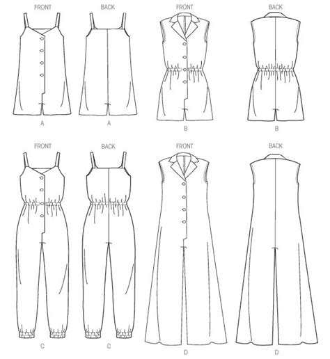 pattern making of jumpsuit 243 best a jumpsuit sewing ideas tutorial images on