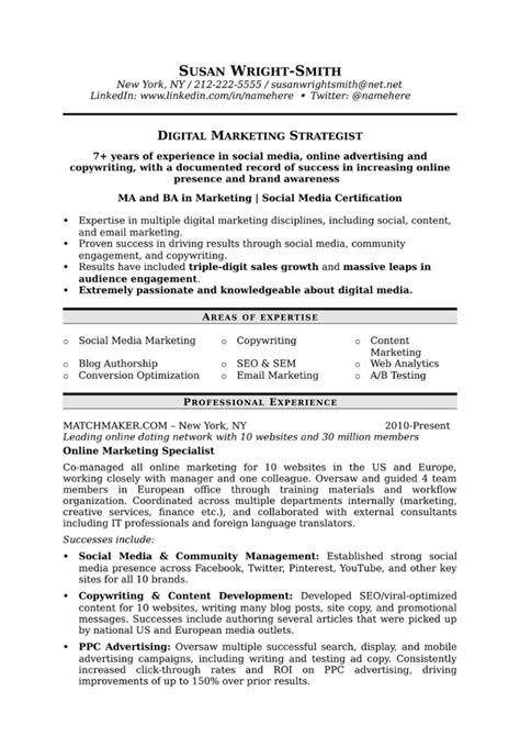 Marketing Resume by How To Write A Marketing Resume Hiring Managers Will