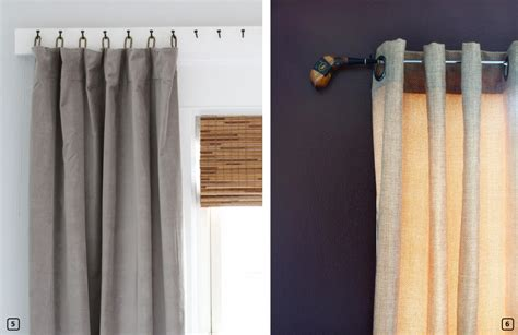 creative curtain rods 18 creative ideas for hanging curtains bnbstaging le blog