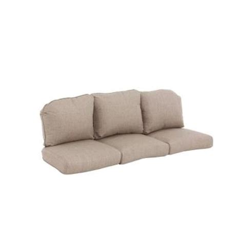 Outdoor Sectional Sofa Replacement Cushions by Hton Bay Walnut Creek Wheat Replacement Outdoor Sofa