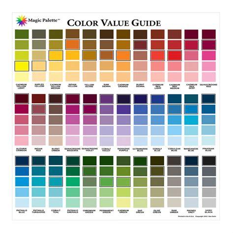 magic palette color value guide jackson s supplies