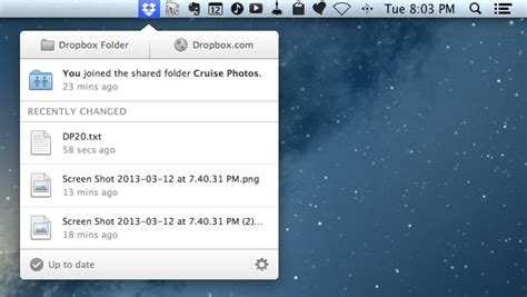 dropbox app for mac dropbox 2 0 for mac now available macstories