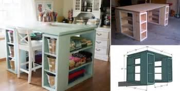 wonderful diy craft table
