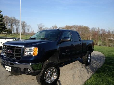 sell used 2008 gmc sierra 2500 hd slt in woodbine maryland united states for us 28 800 00