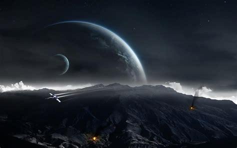 wallpaper 4k ultra hd star wars space rock movie planet spaceship ground star wars fire