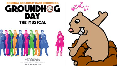 groundhog day broadway cast groundhog day is the must own cast recording of the