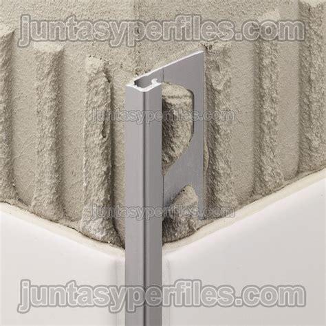 cenefas metalicas cantoneras de aluminio anodizado o esquineros para
