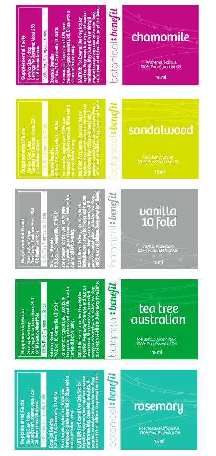 design label simple bold modern graphic design for botanical benefit by luz