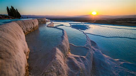 pamukkale thermal pools pamukkale pools in turkey traveldigg