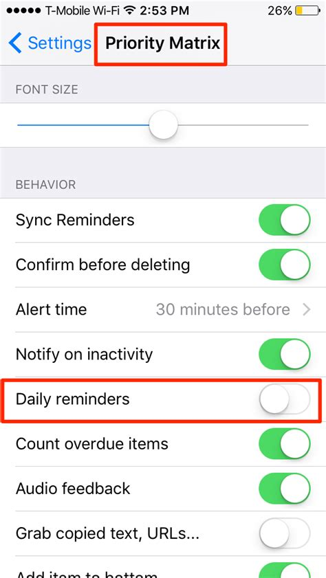 time planner for iphone helps you plan your day and how to turn off quot plan your day quot notifications priority
